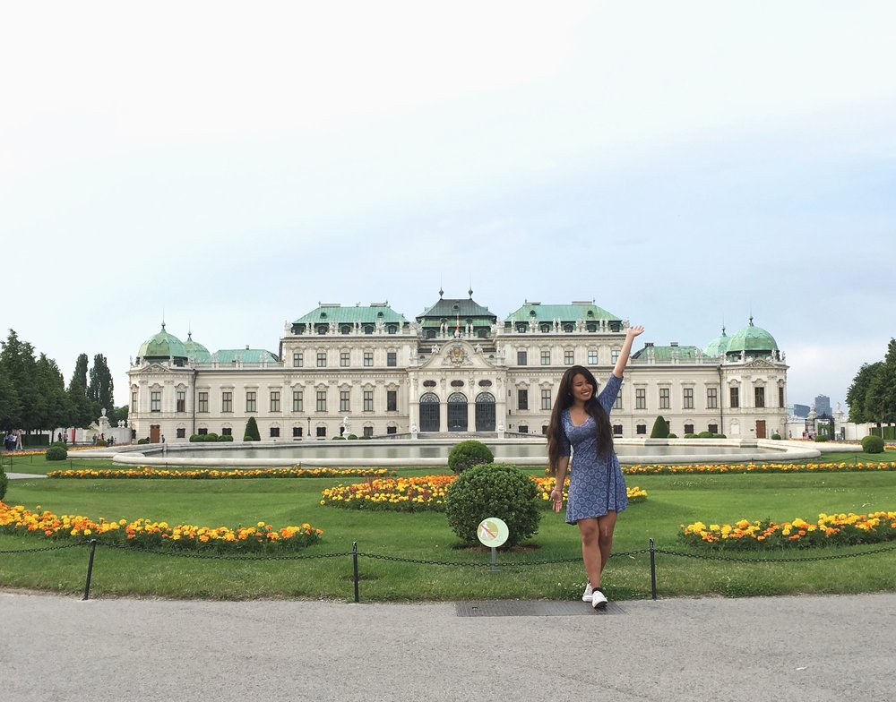 Belvedere Palace- Vienna, Austria