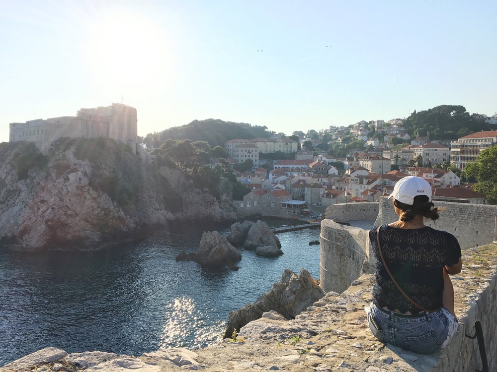 Old City Walls–Dubrovnik, Croatia