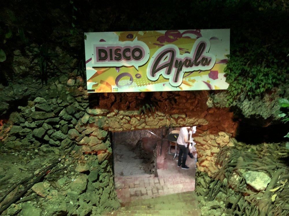 """The entrance to """"Las Cuevas"""""""