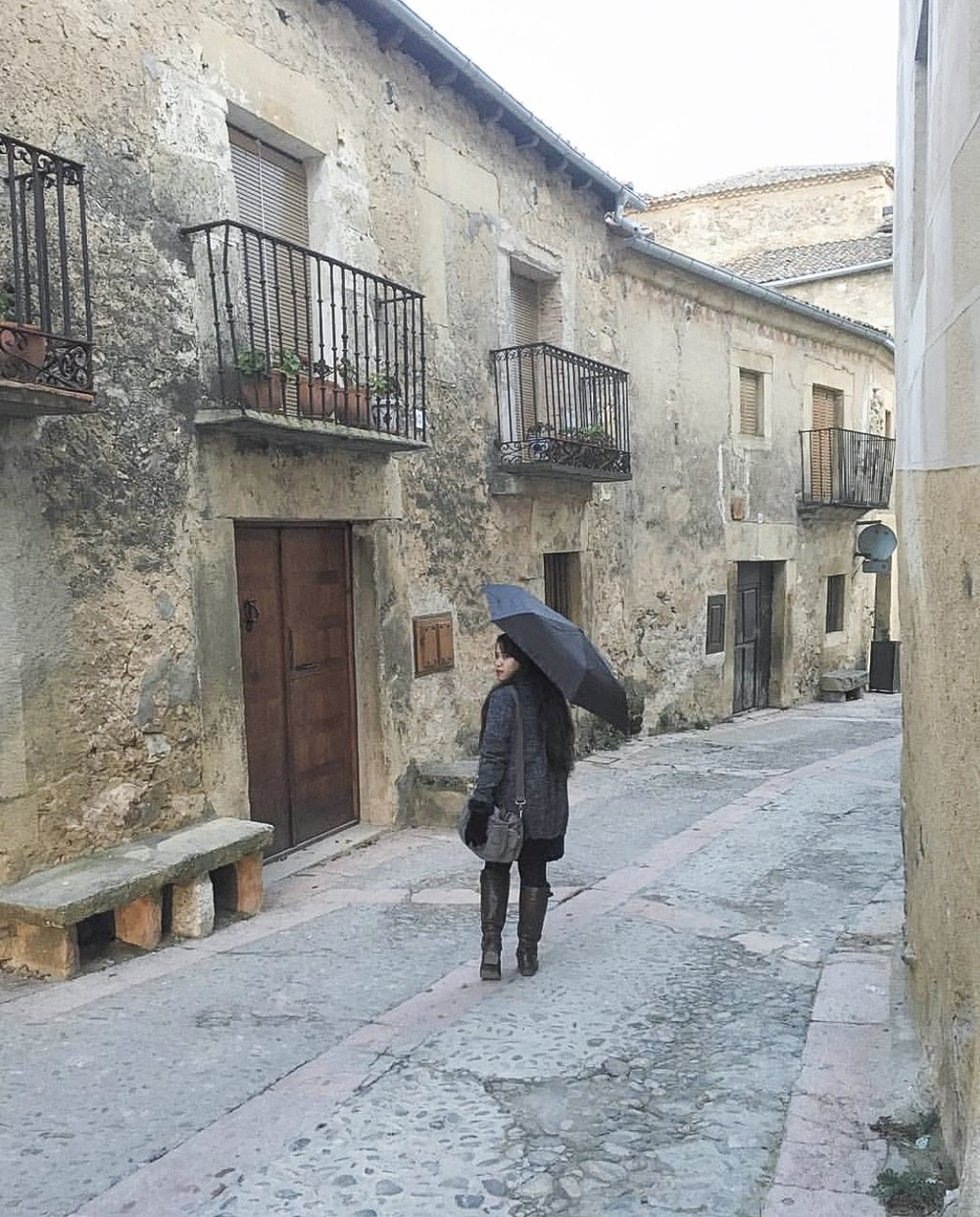 In the 100 person town of Pedraza [Pedraza, Spain]