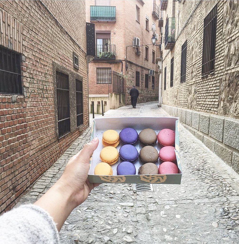 I wasn't kidding about those macarons [Toledo, Spain]