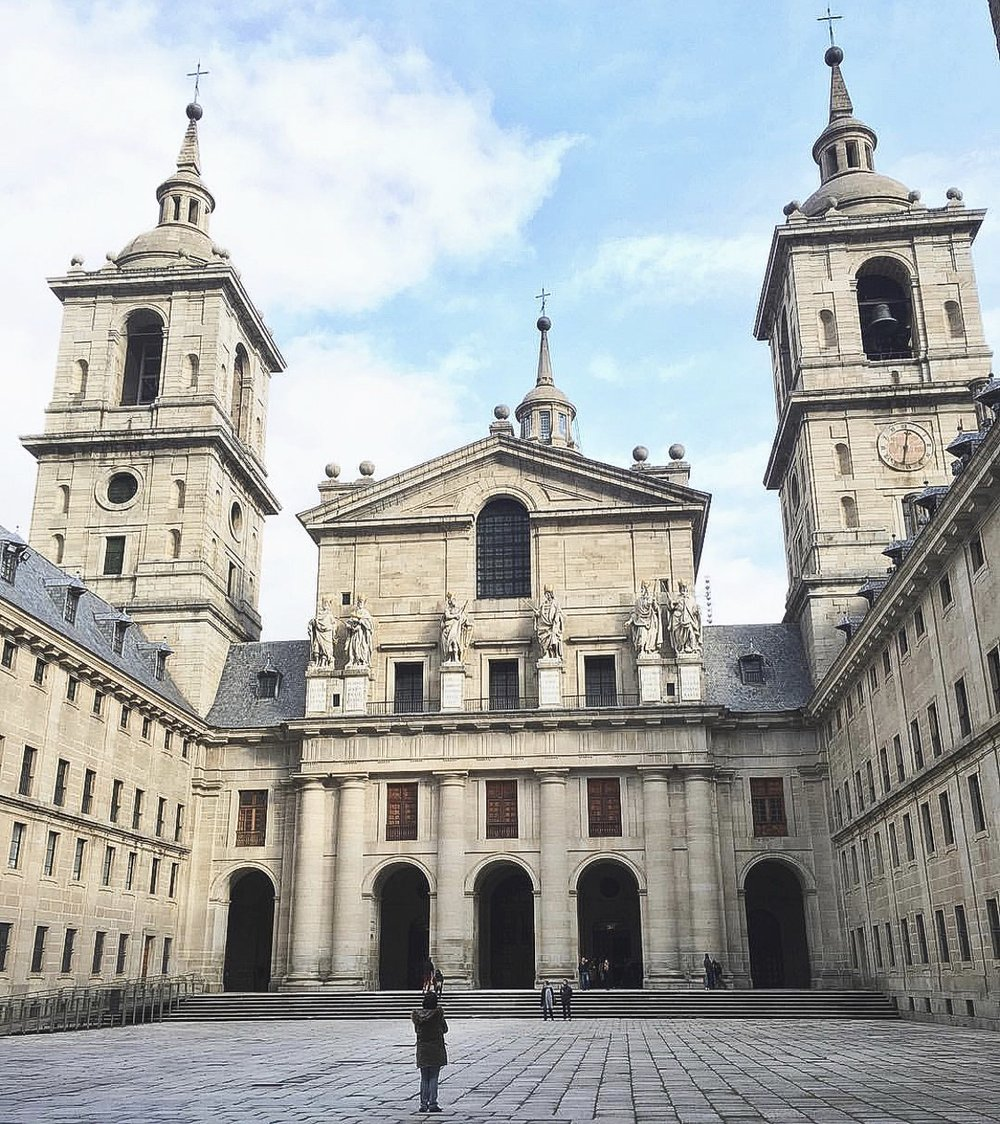 One of the most beautiful monasteries I have seen in my life [San Lorenzo del Escorial, Spain]