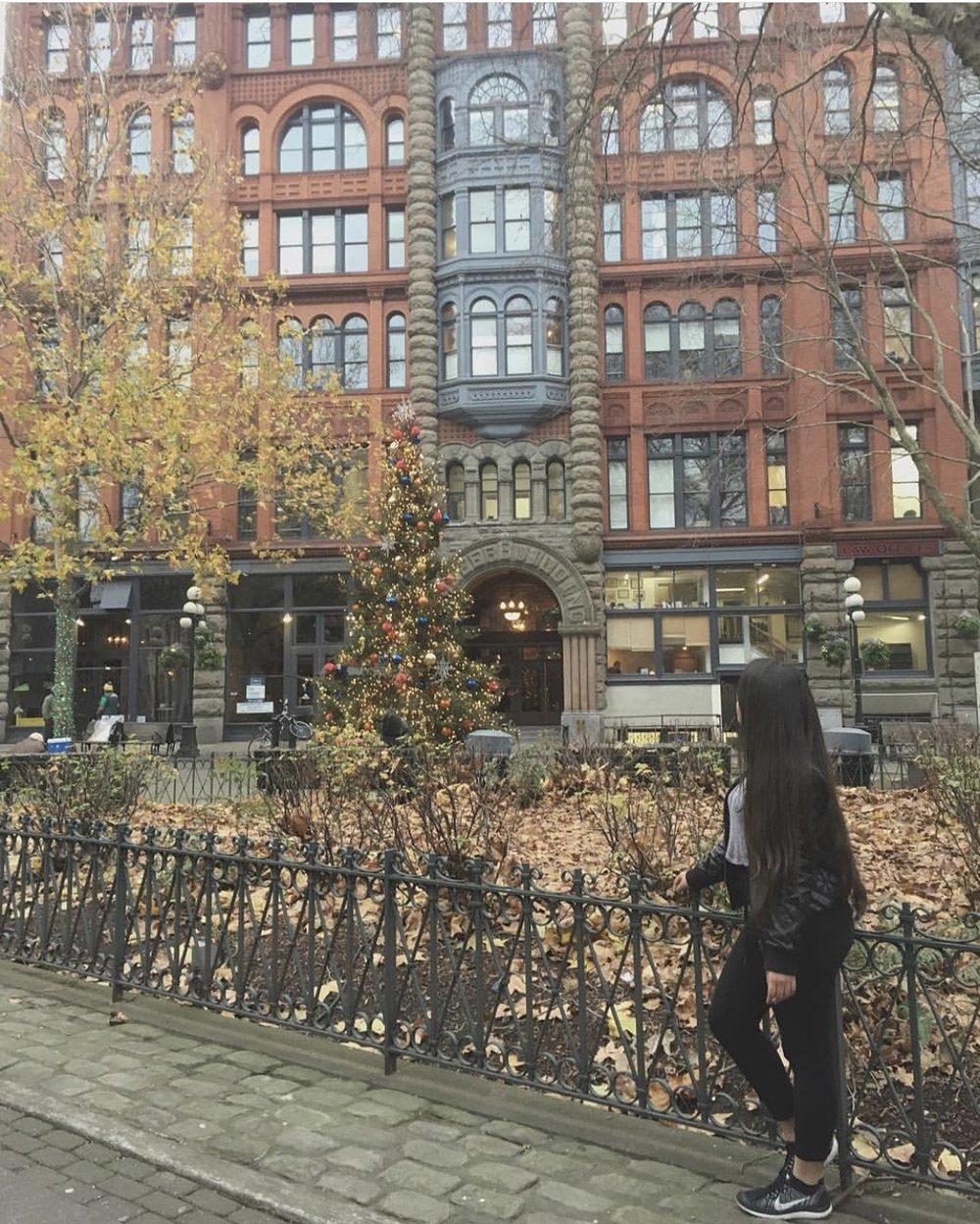 Exploring Pioneer Square Park