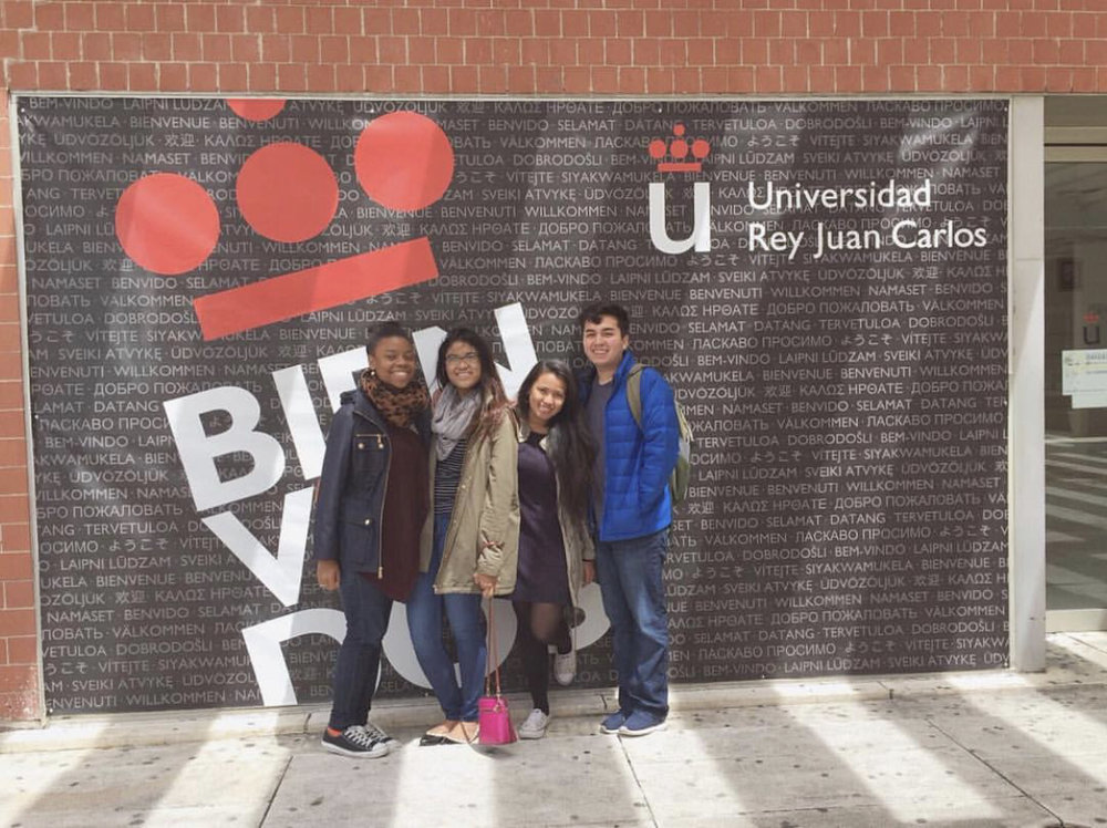 Last day of classes at URJC!