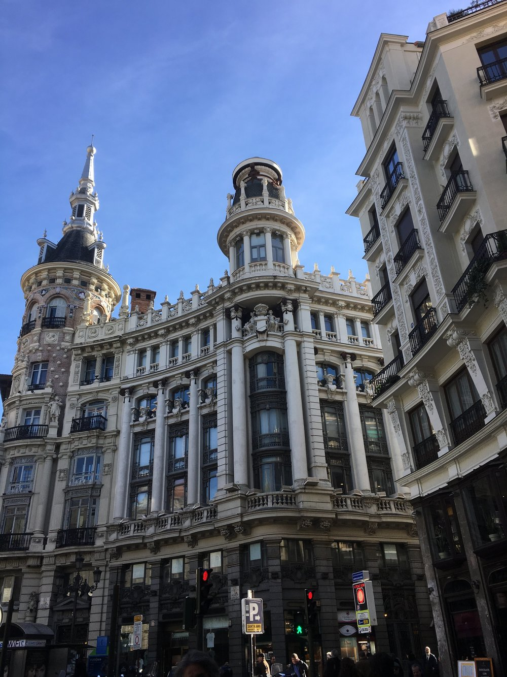 Madrid has some of the most beautiful architecture I have ever seen!