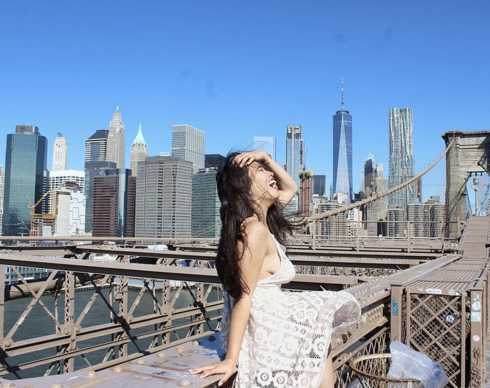 One of my favorite spots to take pictures on the   Brooklyn Bridge