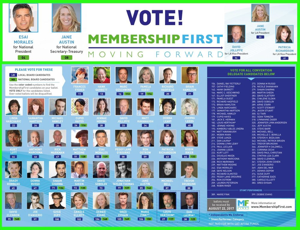 Vote MembershipFirst 2017
