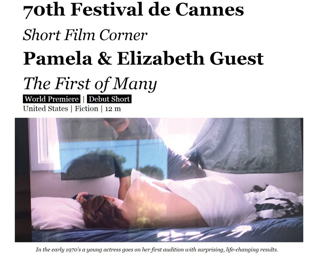 Pamela & Elizabeth Guest, Membership First, SAGAFTRA, The First Of Many, Sexual Harrasment, cannes.JPG