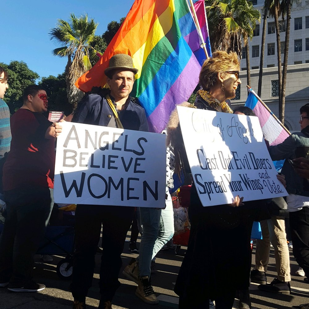 Angel's Believe Women: Max Kleinman - The 2018 Women's March Los Angeles, California