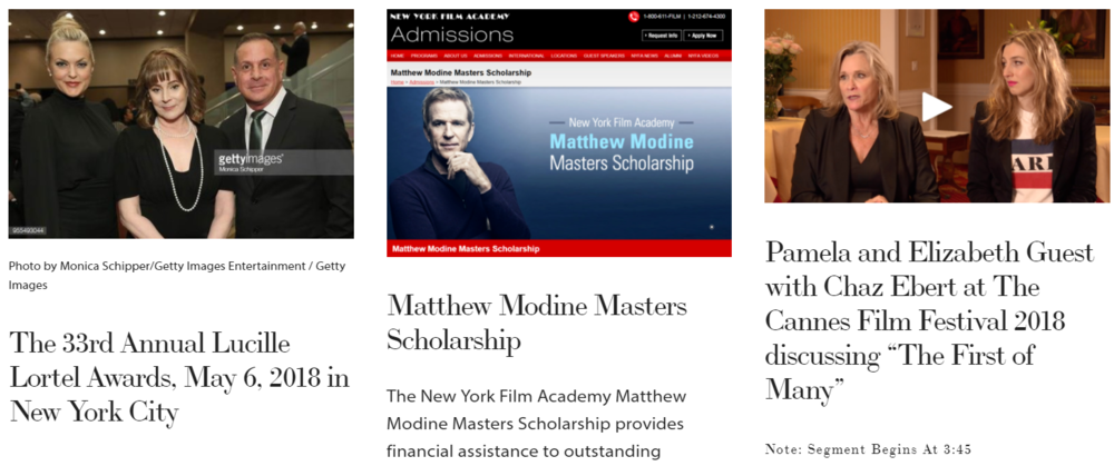 MembershipFirst, SAGAFTRA, Matthew Modine, Pamela Guest, Patricia Richardson, news May.PNG