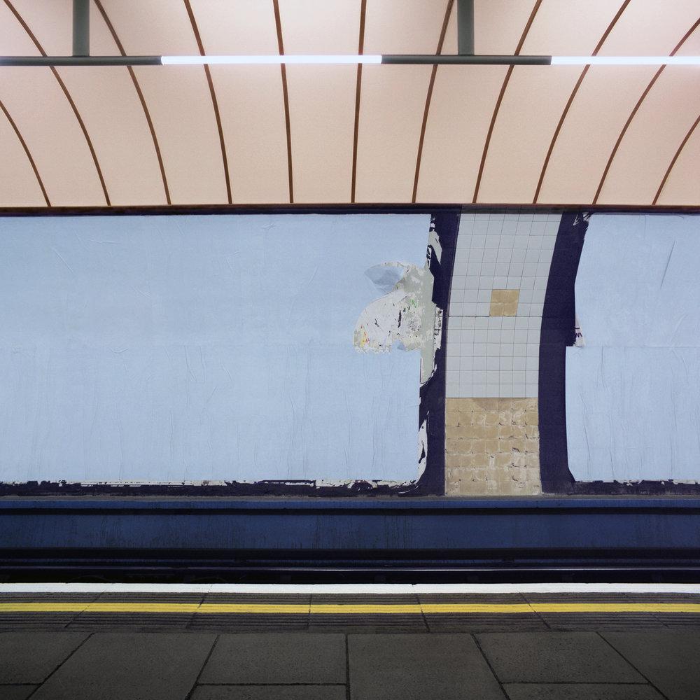 Victoria Platform, London 1999 -