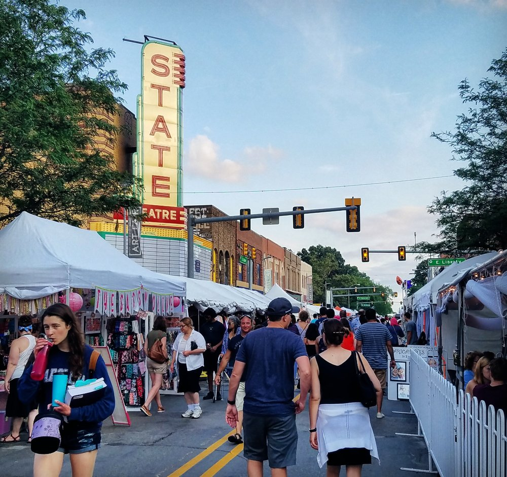 2017 Ann Arbor Art Fair, Ann Arbor, Michigan