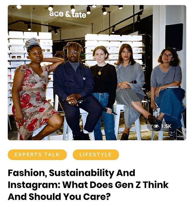Getting answers to the pressing questions about fashion, sustainability and social media by the most relevant. 🕵🏻‍♀️📝 read my new article on sustainable initiatives during @londonfashionweek now up on @wersm 📌 🔗bit.ly/2zCwRUG (link in bio)  #challengethefabric #thelaundryarts #slowfashiontosaveminds #wersm #londonfashionweek #londonfashionweekss19  Photography: @saraldn