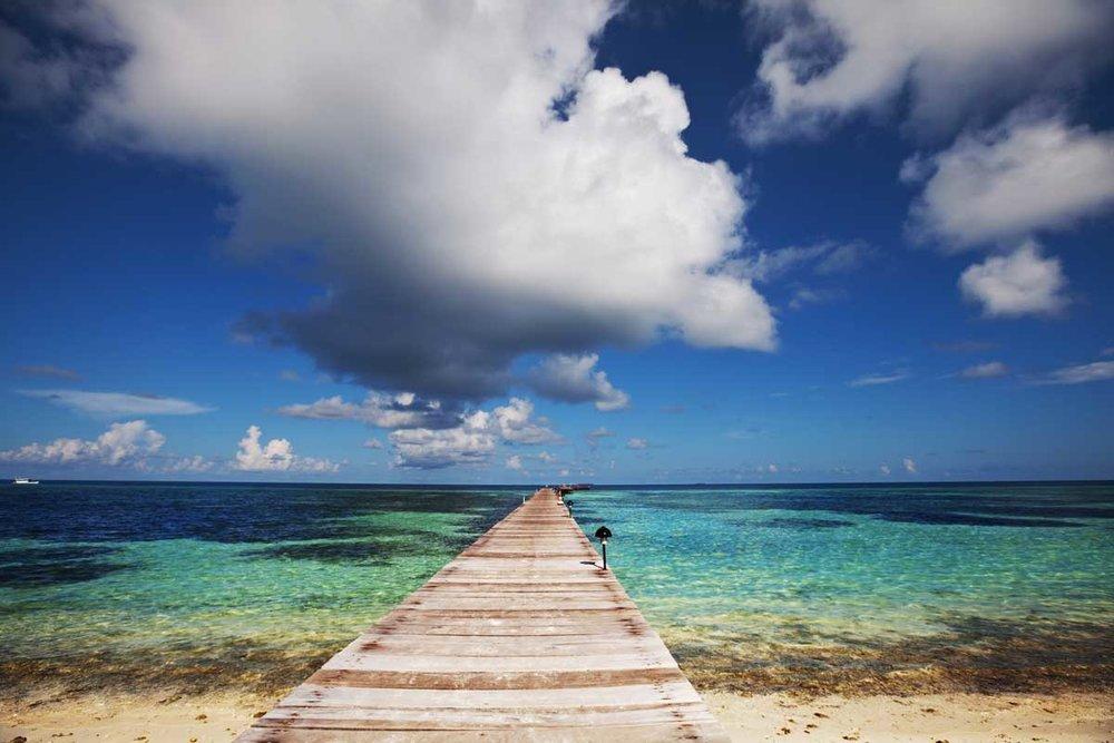 Peaceful pier.