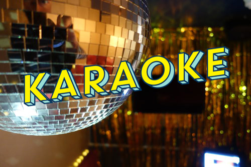 KARAOKE / £25 One Hour / £36 Two Hours   Let loose your inner diva with our new private booth for up to ten people.    Book Now.