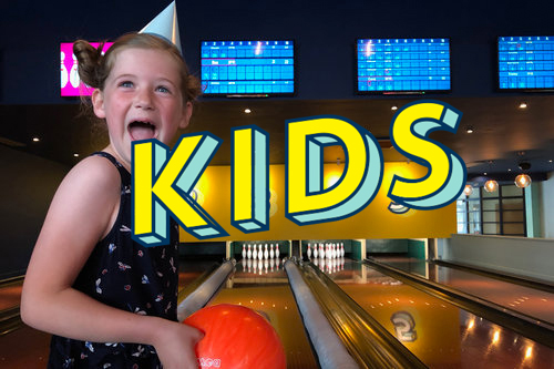 KIDS PARTY / £12pp   A game of bowling, Kids Main, Ice Cream & Unlimited Cordial.  We reserve and decorate a booth for your party. Bring your own cake. Anytime before 7pm.    Book Now.
