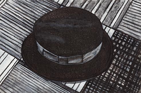Self Portrait (Hat), 2015