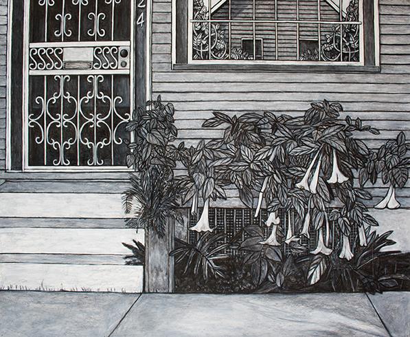 Neighbor's House  (2024 N. Villere), 2012