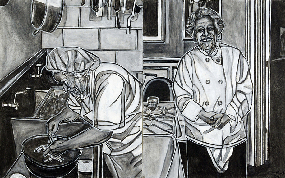 From the Kitchen  to the Dining Room, 2004