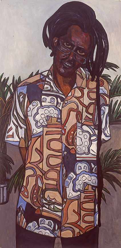 Man with Dreadlocks, 2000