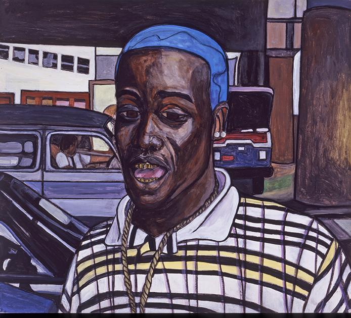 Boy With Blue Hair II, 2000