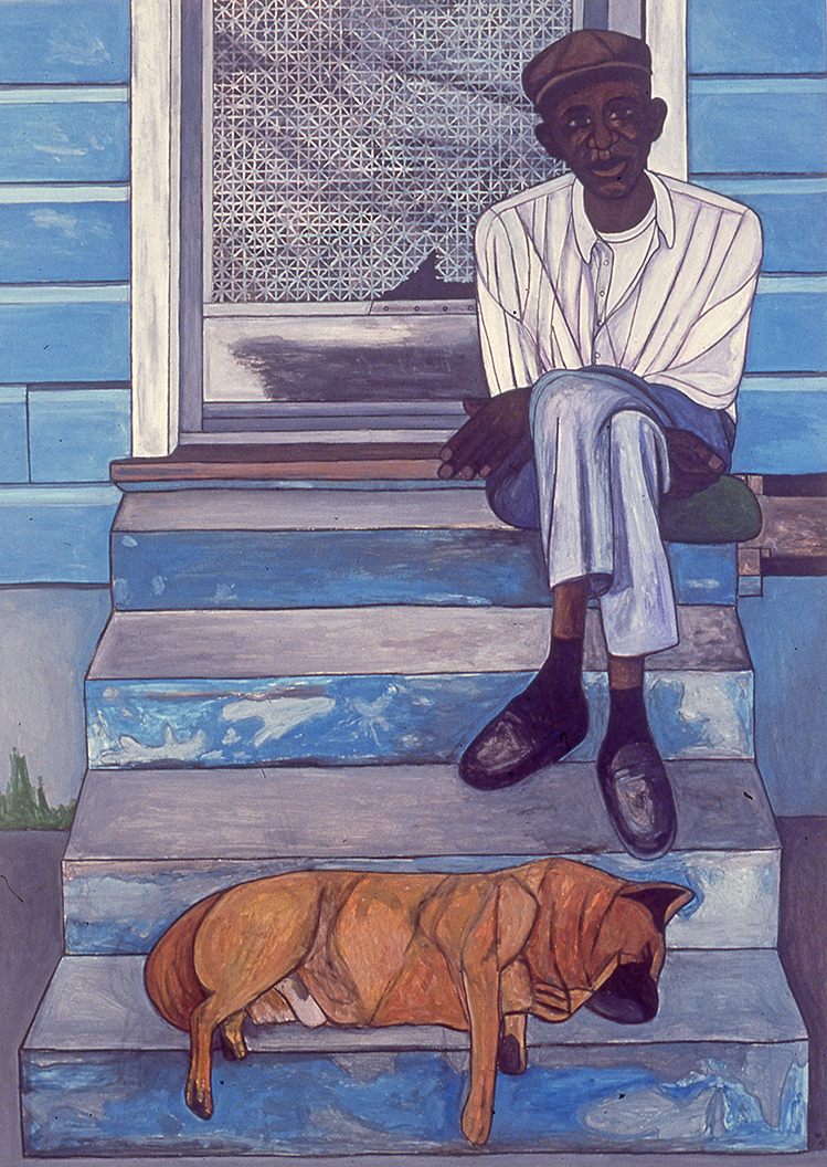 Man With Dog, 1999