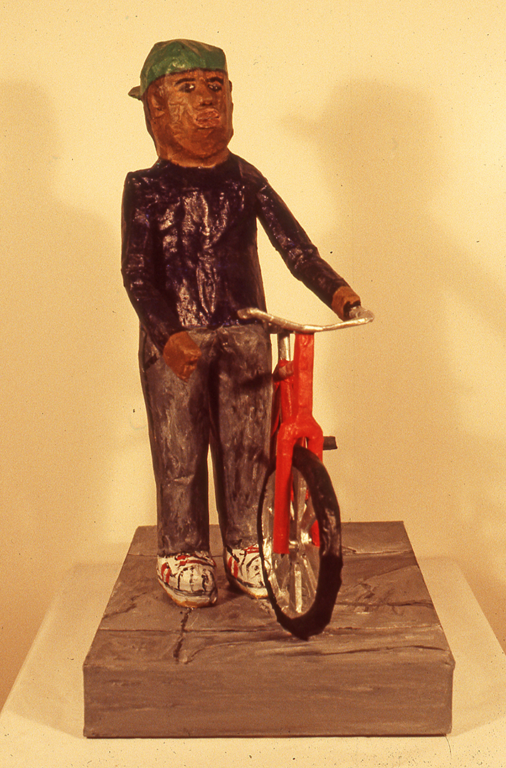 Boy With Bike, 1989
