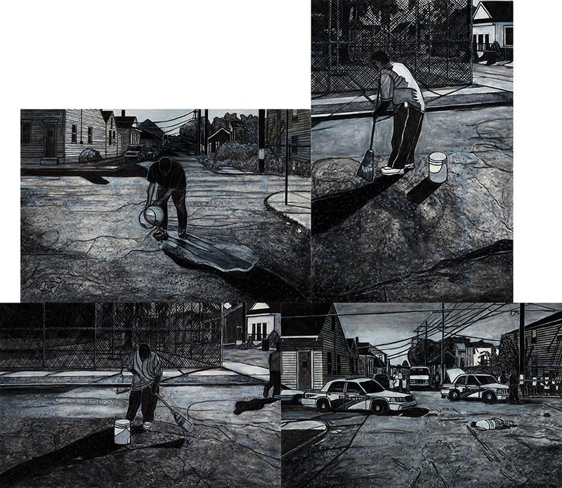 Sweeping, Scrubbing, Washing, Healing:, 2008