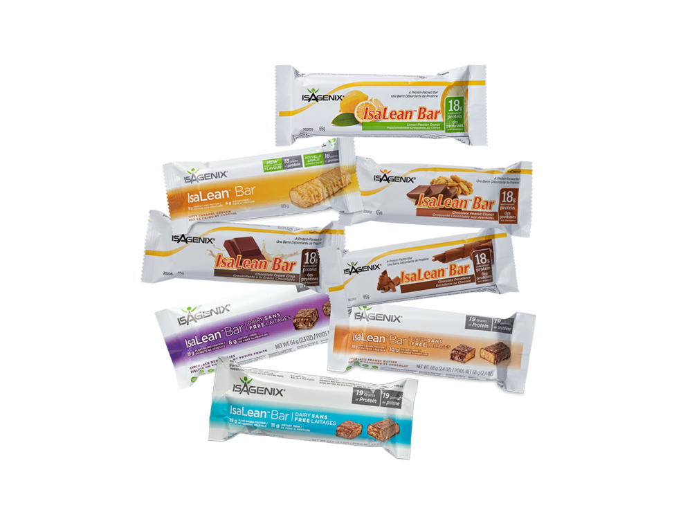 IsaLean Bar  (Dairy Free Chocolate Peanut Butter) - IsaLean Bars are delicious, easy, and perfect for a quick meal on the go. Each bar contains 18-19 grams of high-quality protein, supports lean muscle building, and helps satisfy cravings to support weight loss.