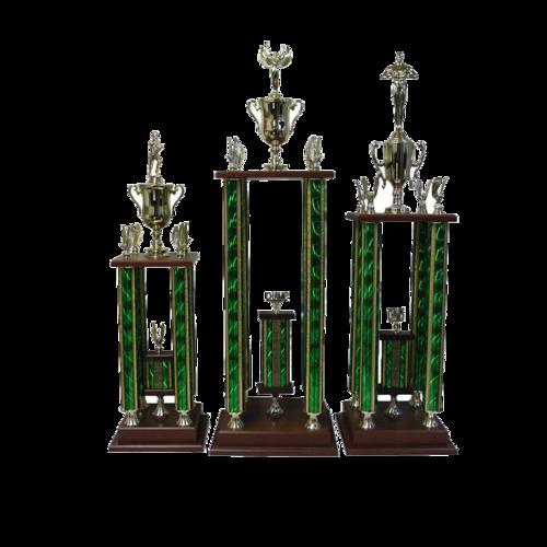four column trophies rmaz awards
