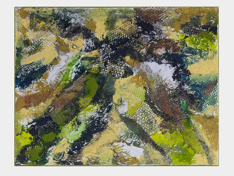 Earth, Mixed Media on Canvas