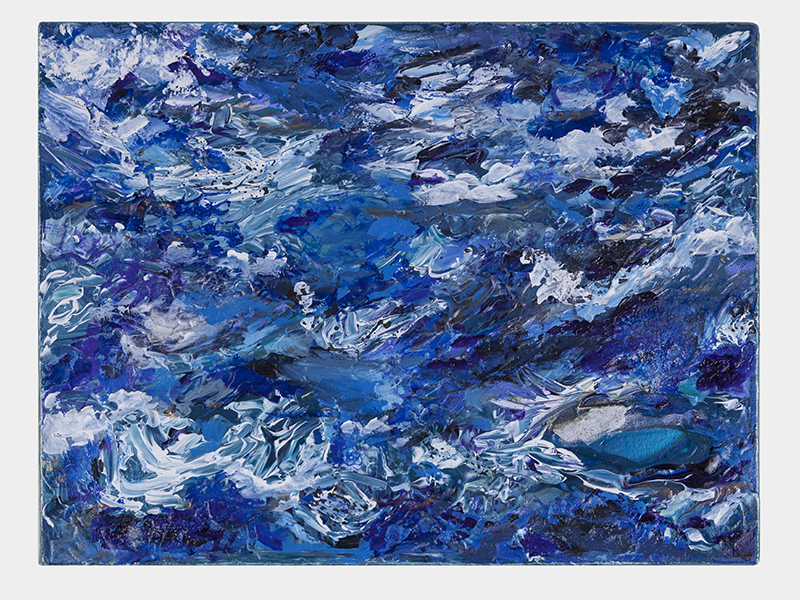 Water, Mixed Media on Canvas