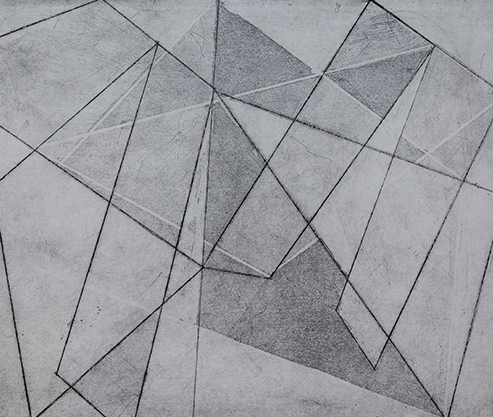 Sublime Geometry, Etching