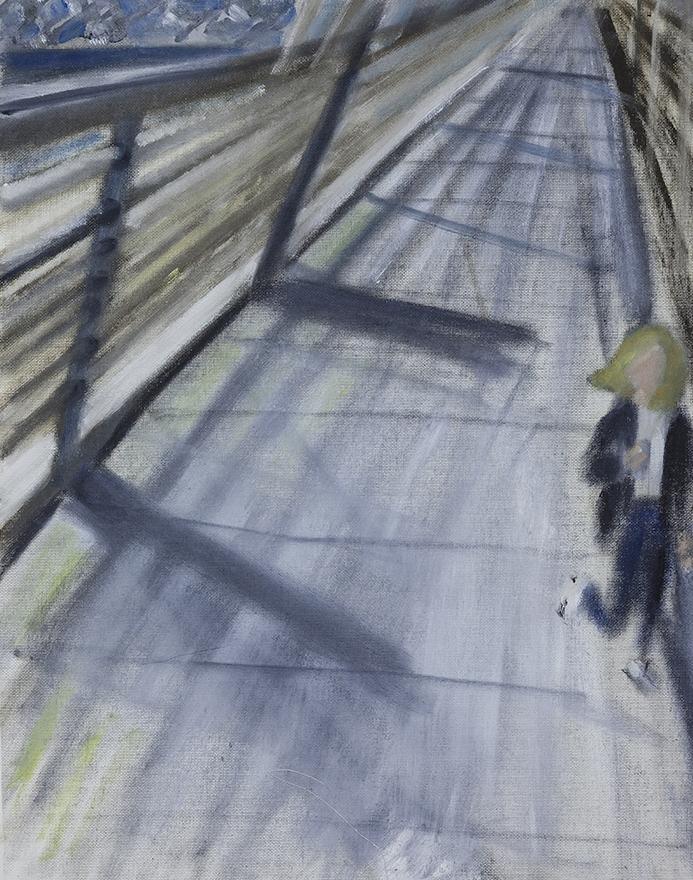Flight, Oil on Canvas