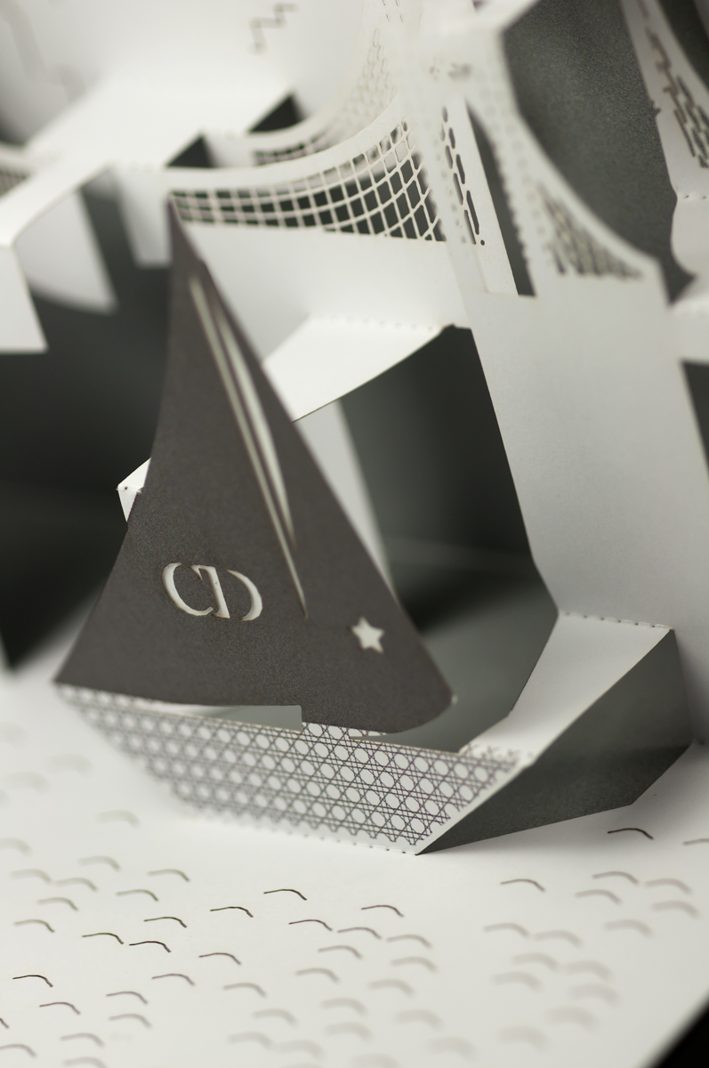Detail of Christian Dior Yacht.