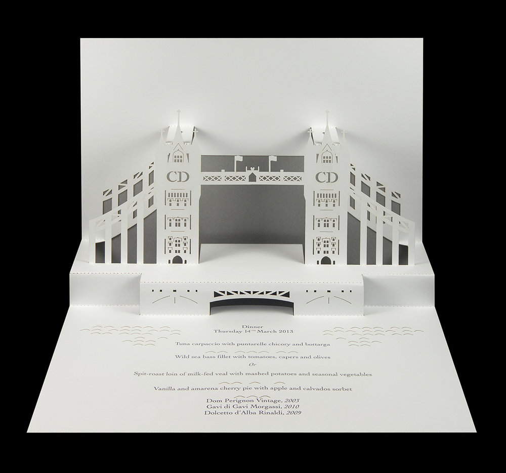 Dior - Dior at Harrods Tower Bridge pop-up menu