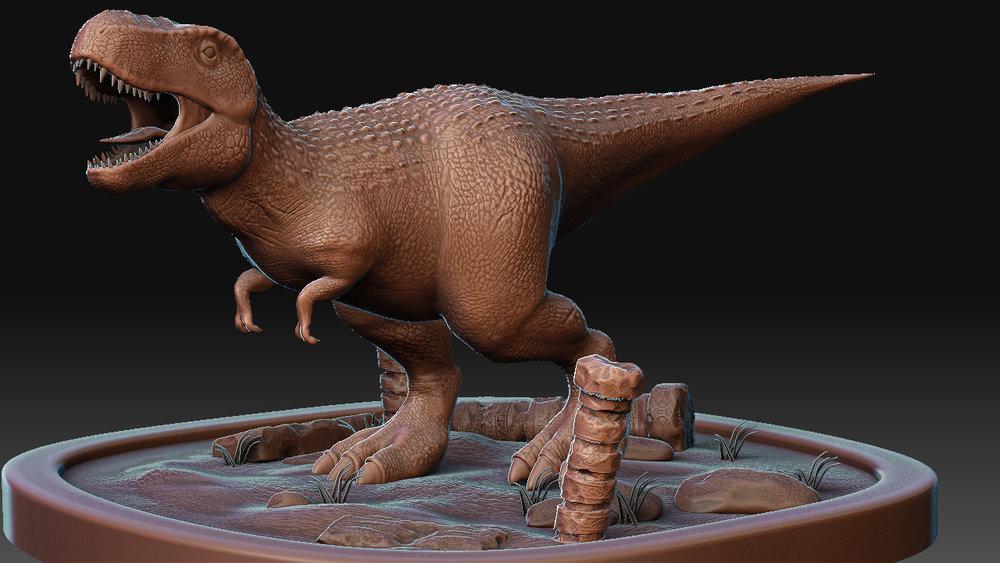 Zbrush_T-Rex
