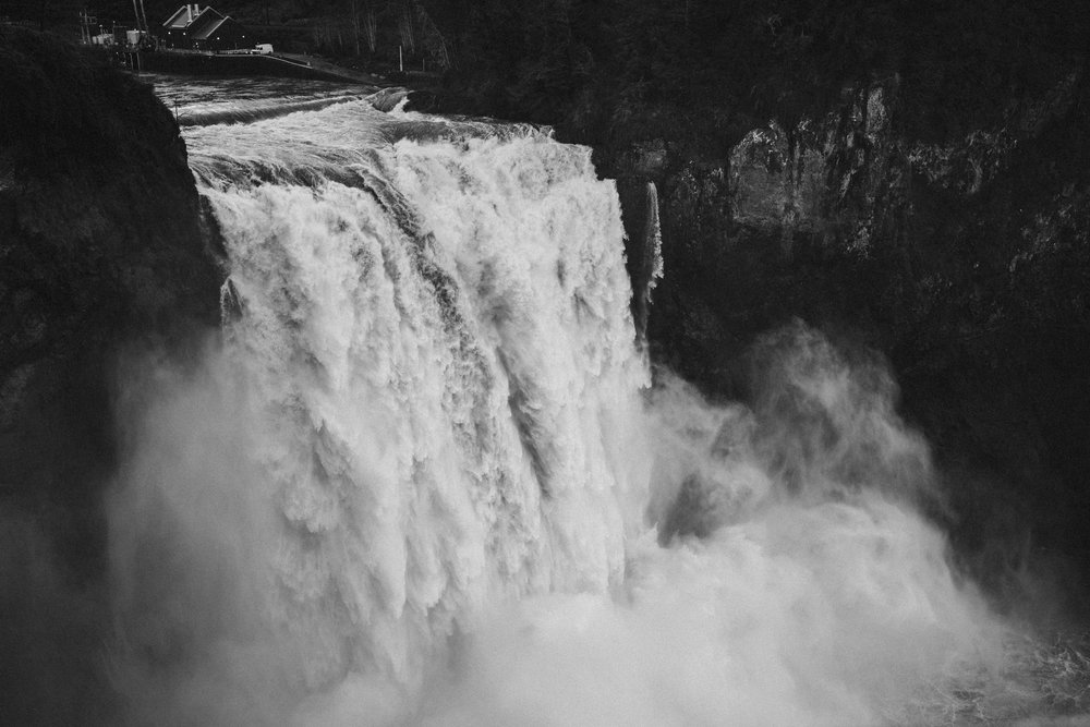 Snoqualmie Falls, Washington USA