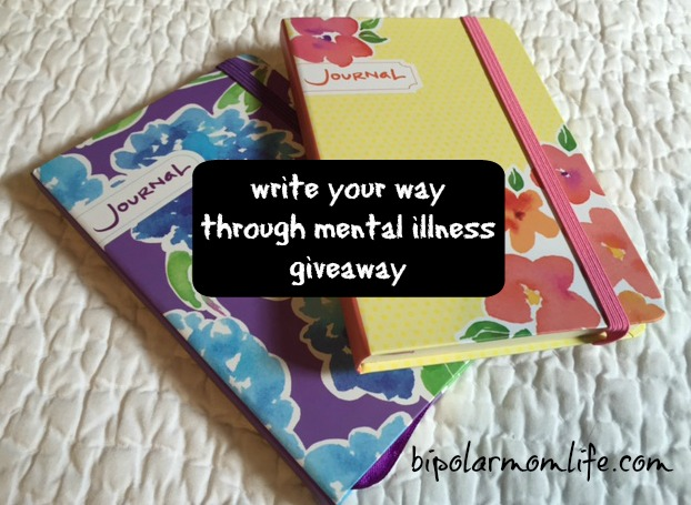 journal giveaway bipolar mom life