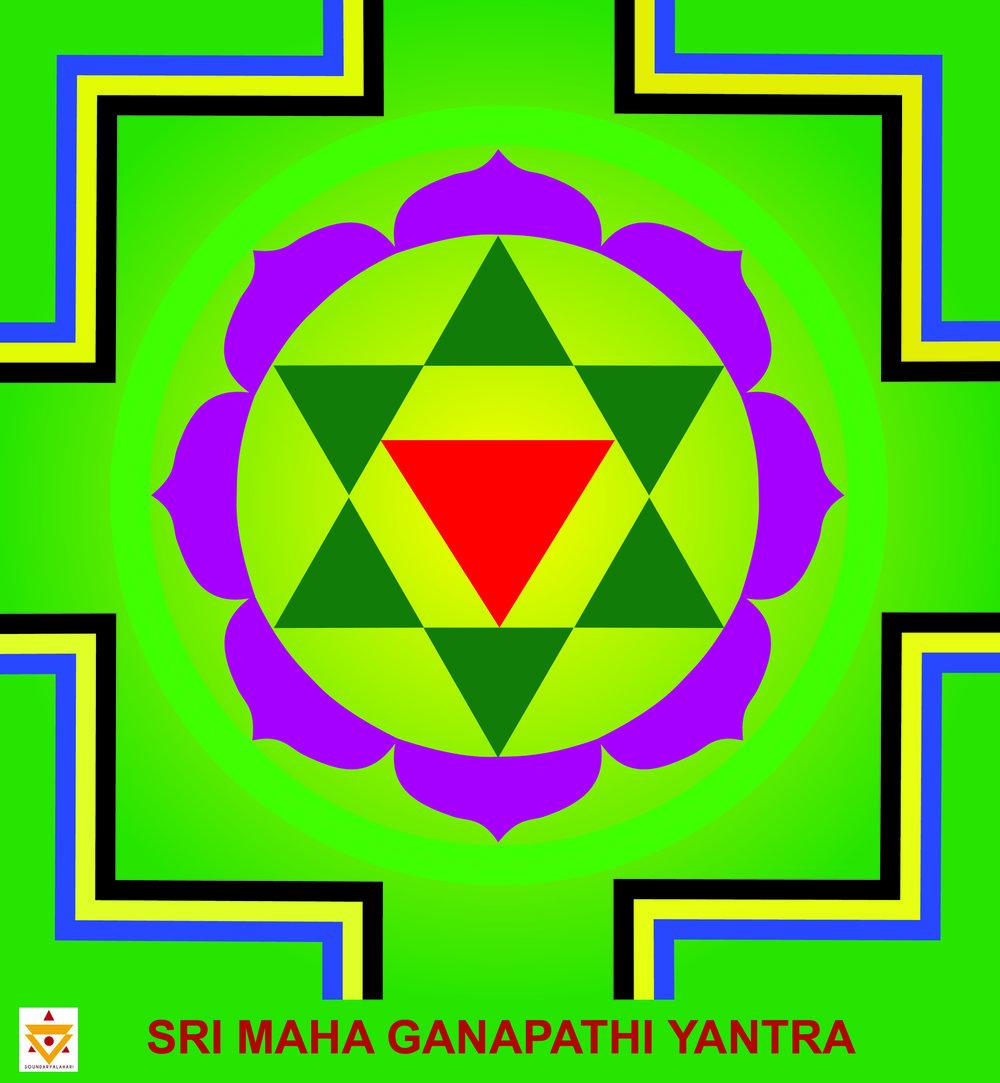 Sri Mahaganapati Yantra