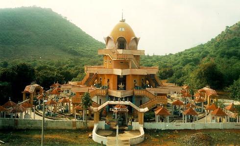 Sahasrakshi Meru Temple   Devipuram,Andhra Pradesh, India