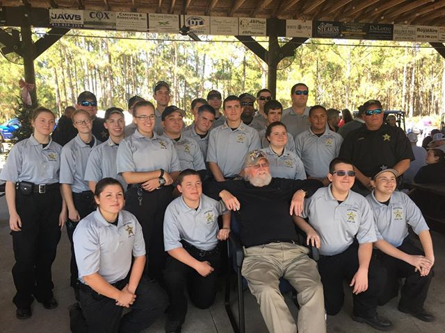 #flashbackfriday with Charlie Daniels!! #pascoproud #explorerpost916