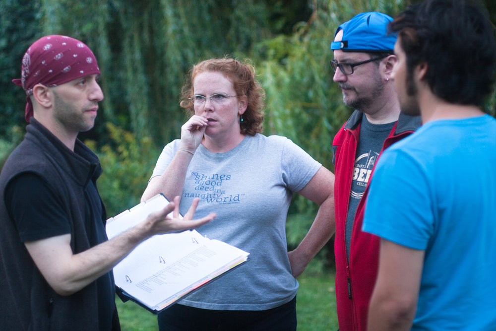 - Directing Much Ado About Nothing in Cambridge, MA with Valerie Madden*, Kim Carrell*, and Gideon Bautista. (* denotes members of Actors' Equity Association).Photo Credit: Grant Terzakis
