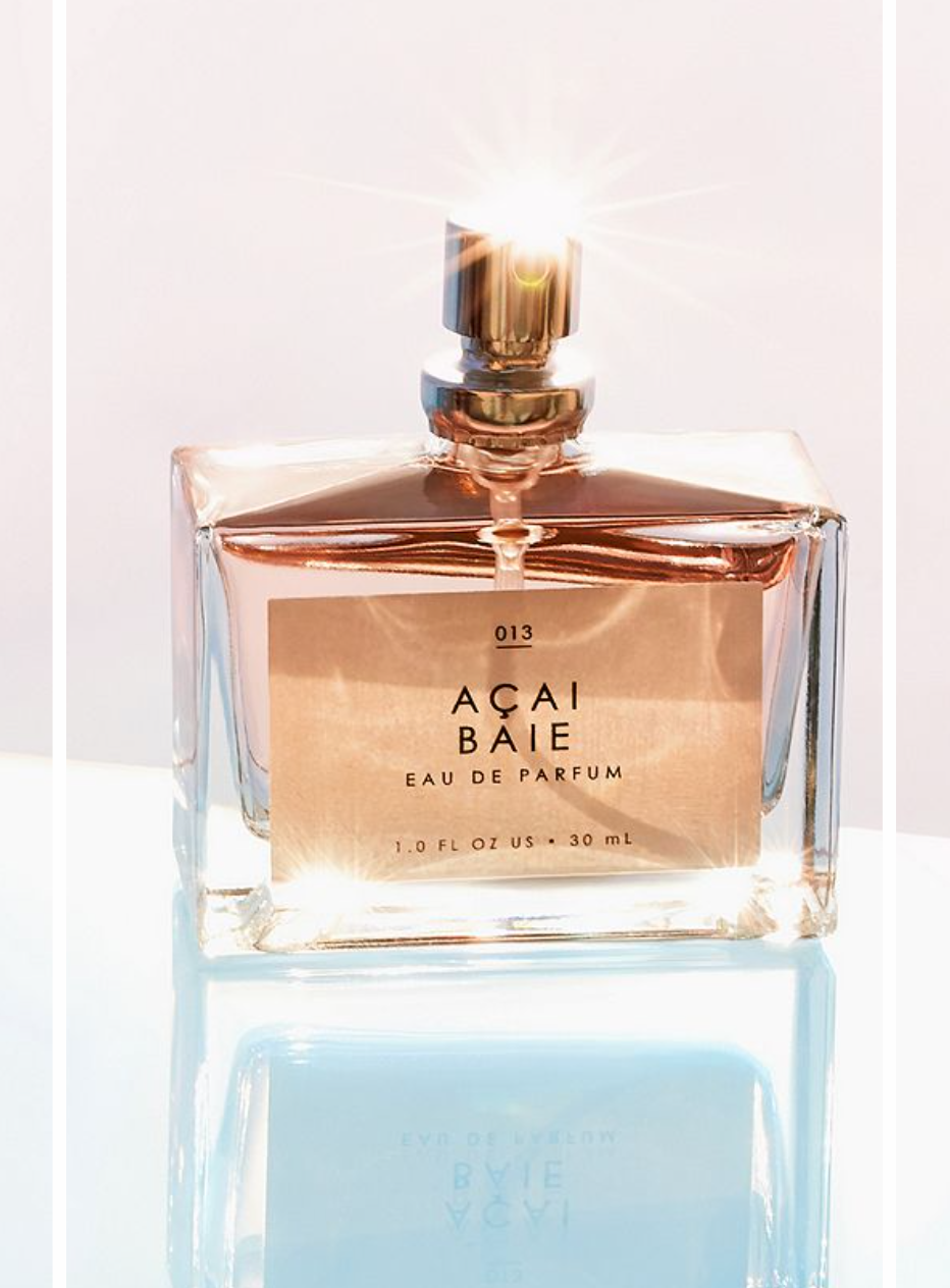 1)Gourmand EDP Fragrance - I love these scents at Urban. They are cruelty-free which is a major plus so no cute animals are harmed in the making. The bottle is chic & clean which makes for pretty room decor. They also are the perfect size to take with you and throw in your tote bag. One of my favorite scents is the Açai Baie which has Acai berry, muguet, & one of my favorite ingriedients vanilla musk. My other favorites are Lait De Coco and The Matcha. They come in 9 scents, so you are bound to find one or a few that fits your mood. Retail: $18