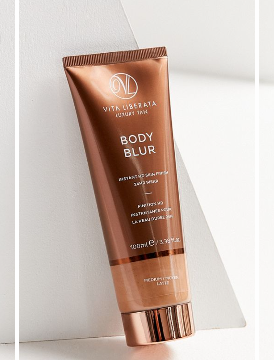 4)Vita Liberata Body Blur TanneR - I first came across this brand when I was at Miami Swim Week. As much as I love to be tan, I do not bake in the sun often as the sun is the #1 cause of aging and I am big on taking preventative measures. But I do love having a golden glow so I use alternative tanning methods: St. Tropez and Vita Liberata are two brands I grab for. This tanning cream goes on evenly with golden color and in order to prevent it from getting on my hands I use a mitt.Retail: $45