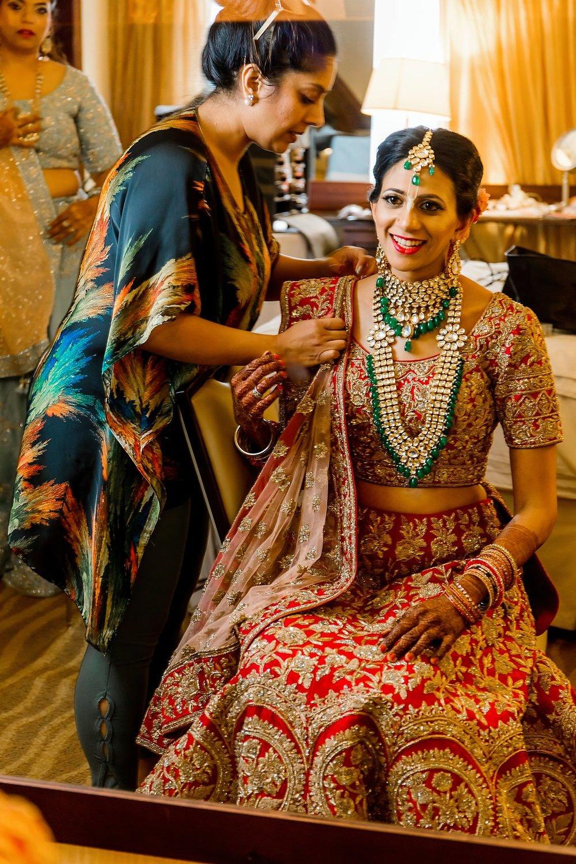 Indian wedding jewelry