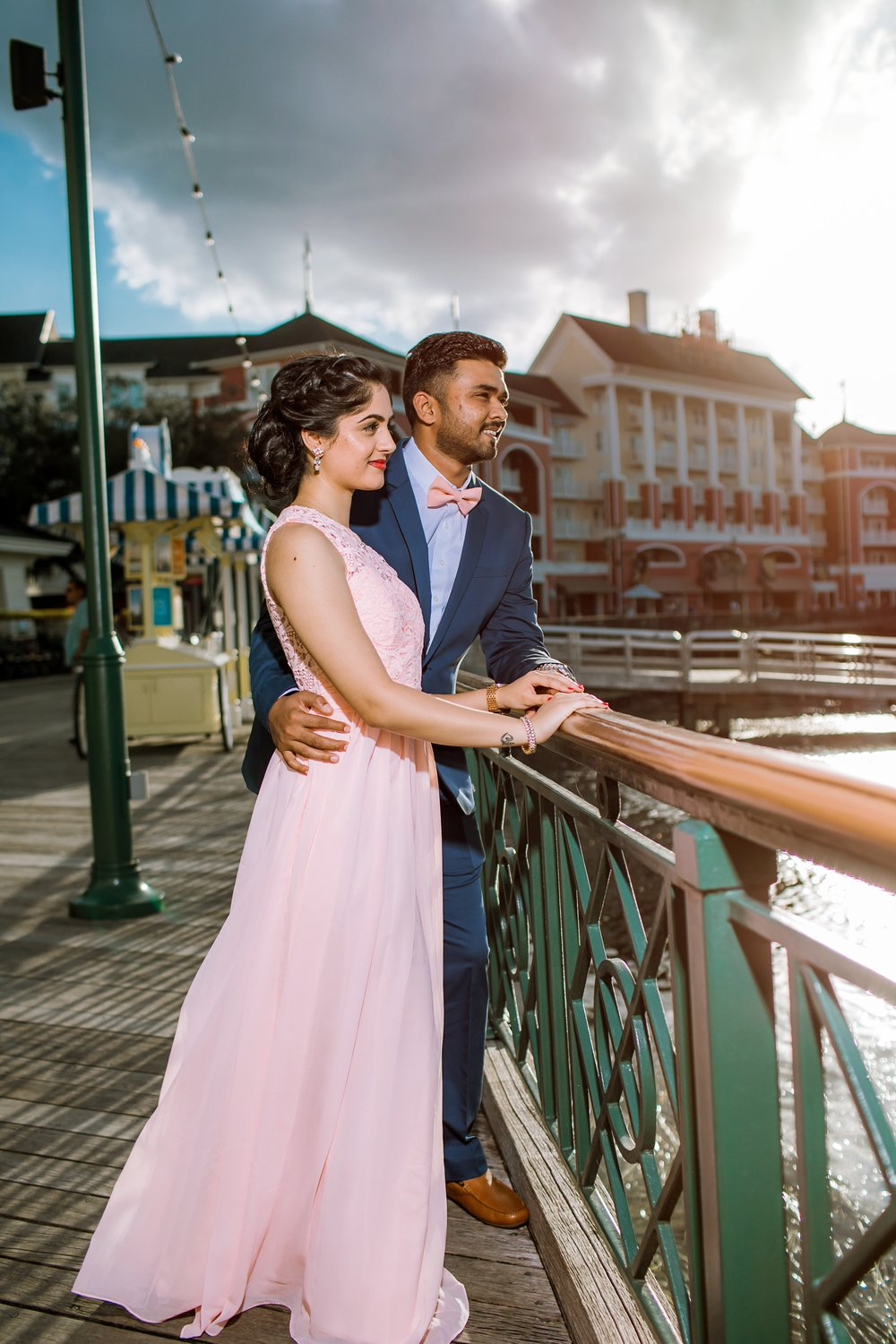 Disney's Boardwalk Engagement Session