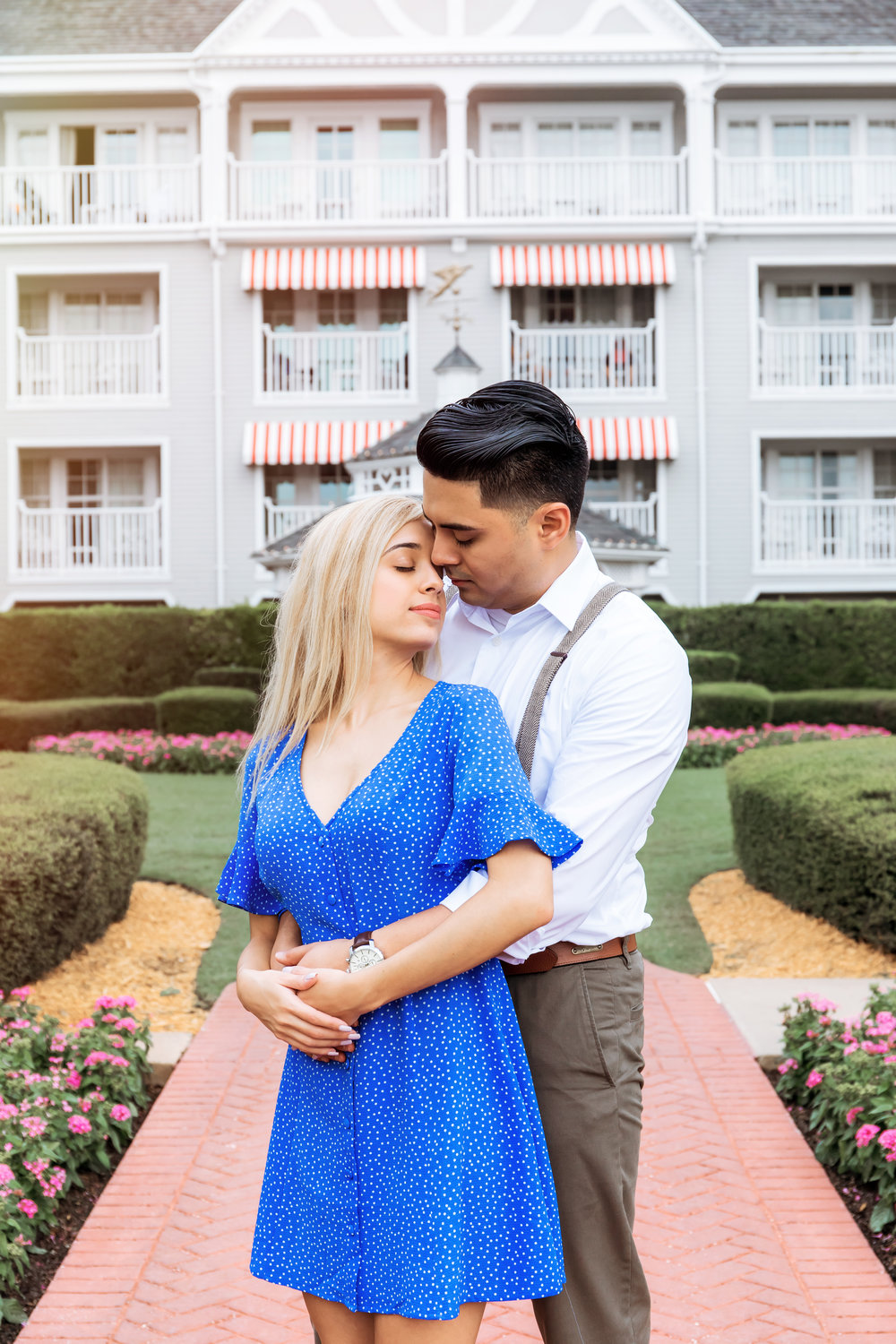 Orlando Wedding Photographer Disney's Springs Engagement