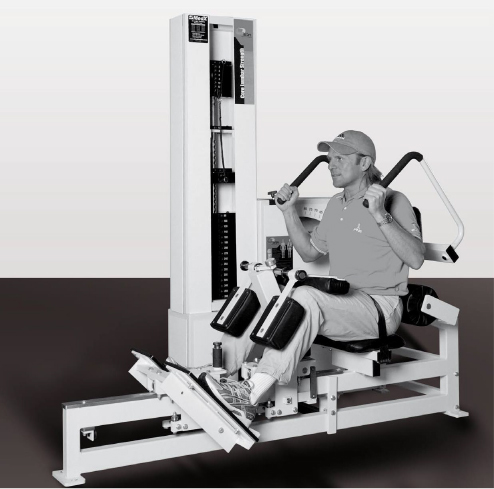 Core Lumbar Strength Machine