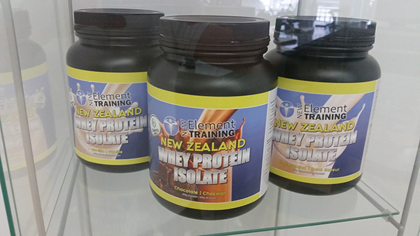NET New Zealand Whey Protein Isolate, $59.95 for 2 lb container
